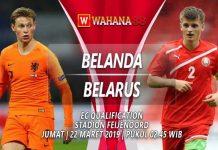 Prediksi Belanda vs Belarus 22 Maret 2019