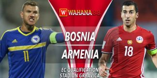 Prediksi Bosnia vs Armenia 24 Maret 2019