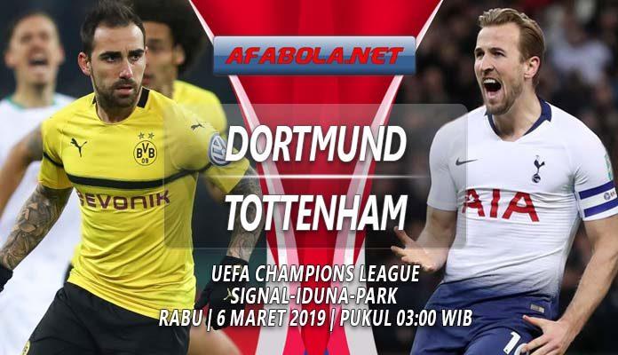 Prediksi Dortmund vs Tottenham 6 Maret 2019