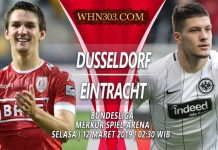 Prediksi Fortuna Dusseldorf vs Frankfurt 12 Maret 2019