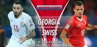Prediksi Georgia vs Swiss 23 Maret 2019