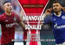 Prediksi Hannover 96 vs Schalke 04