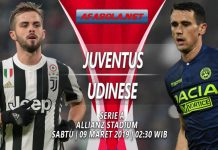 Prediksi Juventus vs Udinese 09 Maret 2019