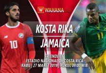 Prediksi Kosta Rika vs Jamaica 27 Maret 2019