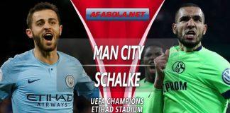 Prediksi Manchester City vs Schalke 13 Maret 2019