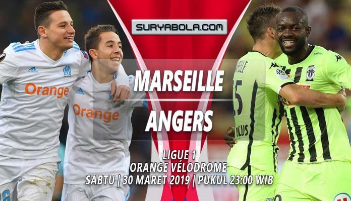 Prediksi Marseille vs Angers 30 Maret 2019
