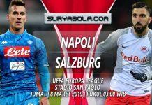 Prediksi Napoli vs Salzburg 8 Maret 2019