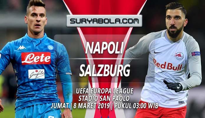 Image result for Napoli v FC Salzburg