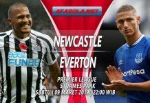 Prediksi Newcastle vs Everton 09 Maret 2019