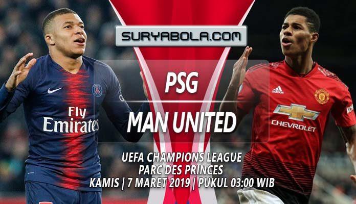 Prediksi PSG vs Manchester United 7 Maret 2019
