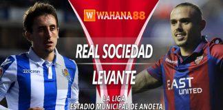 Prediksi Real Sociedad vs Levante 16 Maret 2019