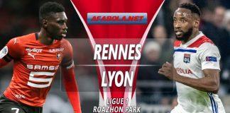 Prediksi Rennes vs Lyon 30 Maret 2019