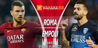 Prediksi Roma vs Empoli 12 Maret 2019