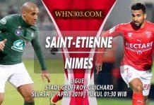 Prediksi Saint Etienne vs Nimes 02 April 2019