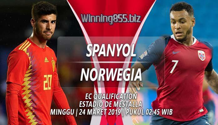 Prediksi Spanyol vs Norwegia 24 Maret 2019