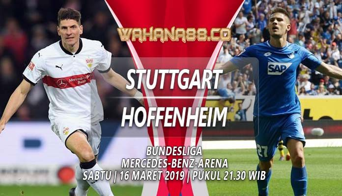 Prediksi Stuttgart vs Hoffenheim 16 Maret 2019