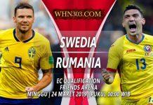 Prediksi Swedia vs Rumania 24 Maret 2019