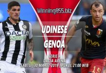 Prediksi Udinese vs Genoa 30 Maret 2019