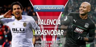 Prediksi Valencia vs Krasnodar 8 Maret 2019