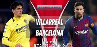 Prediksi Villarreal vs Barcelona 03 April 2019