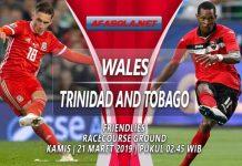 Prediksi Wales vs Trinidad Tobago 21 Maret 2019