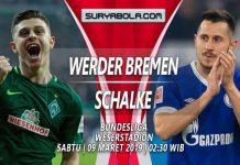 Prediksi Werder Bremen vs Schalke 09 Maret 2019