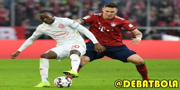 Fortuna Dusseldorf VS Bayern Munchen