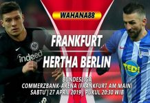 PREDIKSI EINTRACHT FRANKFURT VS HERTHA BERLIN