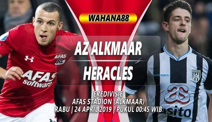 Prediksi AZ Alkmaar vs Heracles