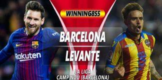 Prediksi Barcelona vs Levante