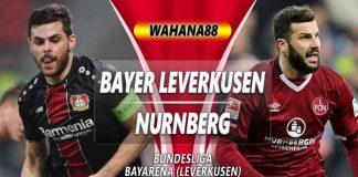 Prediksi Bayer Leverkusen vs Nurnberg 20 April 2019