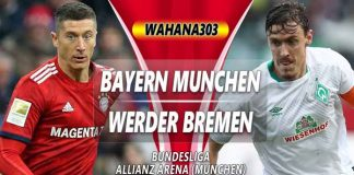 Prediksi Bayern Munchen vs Werder Bremen 20 April 2019