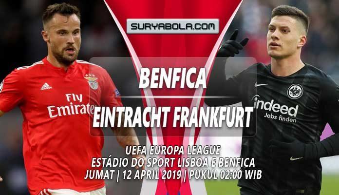Prediksi Benfica vs Eintracht Frankfurt