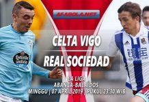 Prediksi Celta Vigo vs Real Sociedad 07 April 2019