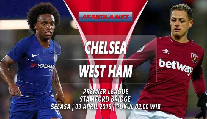 Prediksi Chelsea vs West Ham 09 April 2019