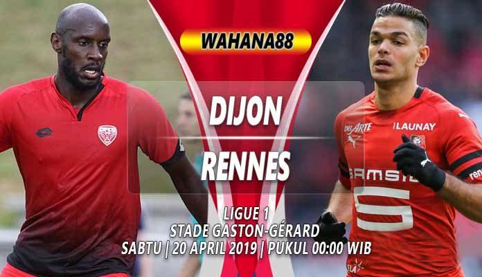 Prediksi Dijon vs Rennes