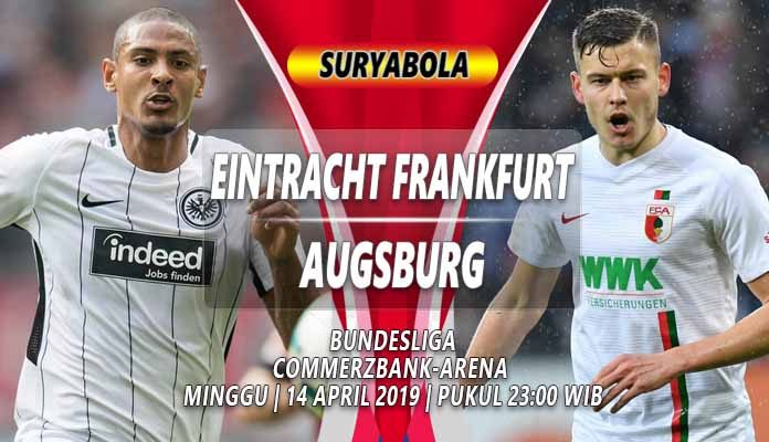 Prediksi Eintracht Frankfurt VS Augsburg