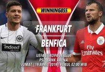 Prediksi Eintracht Frankfurt vs Benfica