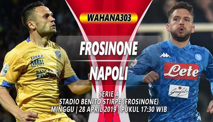 Prediksi Frosinone VS Napoli