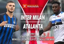 Prediksi Inter Milan vs Atalanta 07 April 2019