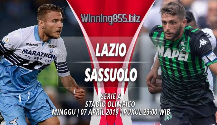 Prediksi Lazio vs Sassuolo 07 April 2019