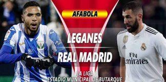 Prediksi Leganes Vs Real Madrid
