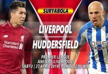 Prediksi Liverpool vs Huddersfield Town