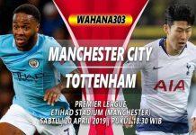 Prediksi Manchester City vs Tottenham Hotspurs
