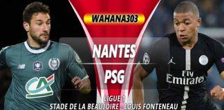 Prediksi Nantes vs Paris Saint Germain
