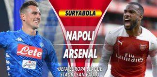 Prediksi Napoli vs Arsenal
