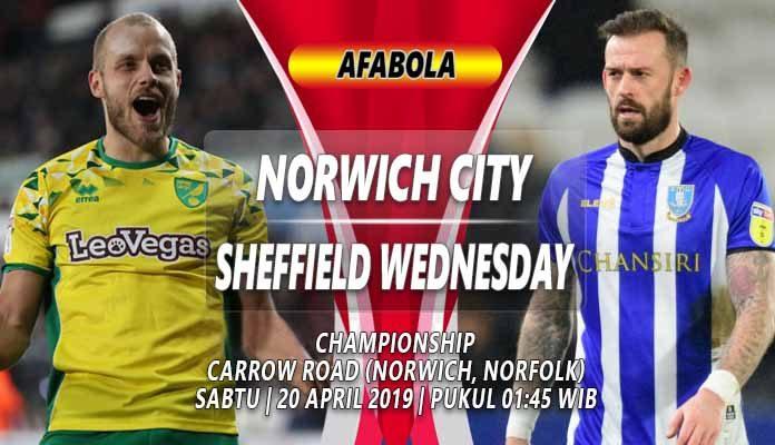 Prediksi Norwich City vs Sheffield Wednesday