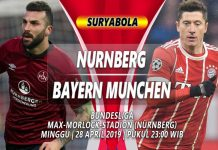 Prediksi Nurnberg vs Bayern Munchen