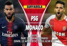 Prediksi PSG vs Monaco 22 April 2019