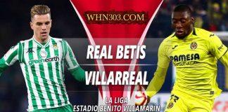 Prediksi Real Betis vs Villarreal 08 April 2019